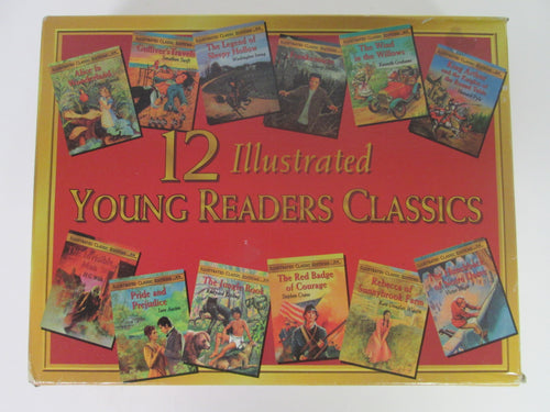 12 Illustrated Young Reader Classics Big Little Books PB