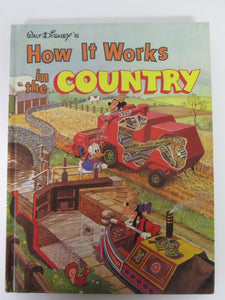 Walt Disney's How It Works Series: In the City and In the Country 2 Books 1982 HC