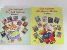 Kids' Favorite Storbook Collection Volumes 1 & 2 inchworm Press 1997 & 1998 HC