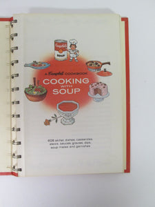Cooking With Soup A Campbell Cookbook 1968 Spiral Bound HC