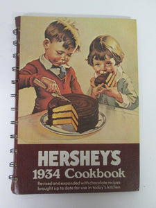 Hershey's 1934 Cookbook 1971 Spiral Bound HC