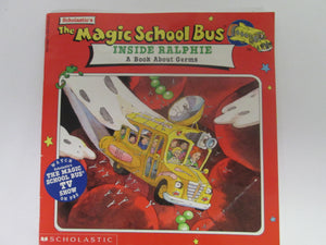 Magic School Bus Inside Ralphie A book About Germs 1995 PB
