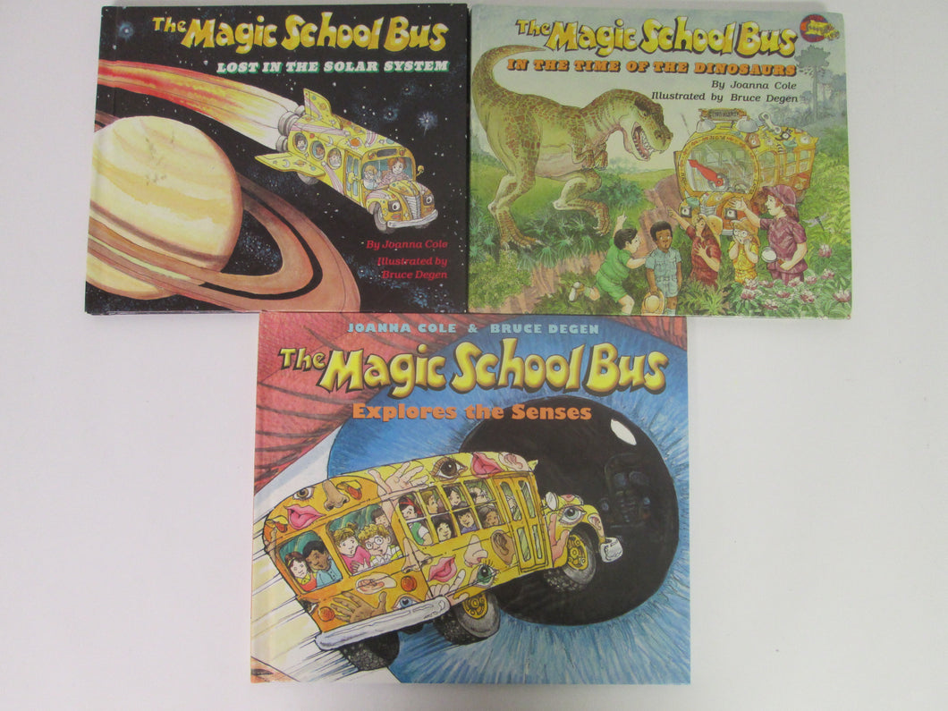Magic School Bus 3 Books HC