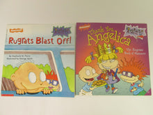 9 Rugrats Books all the same size PB