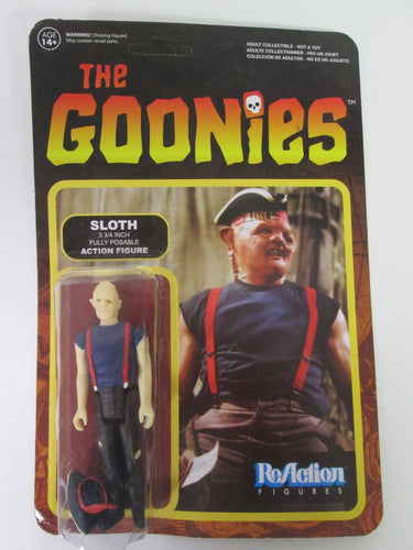 Goonies Sloth ReAction Figure 3 3/4