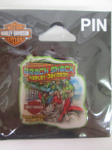 Harley Davidson Beach Shack Pin 2017