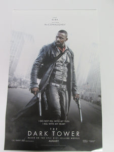 Dark Tower Movie Posters 1 Idris Elba & 1 Matthew McConaughy Set 11x17""