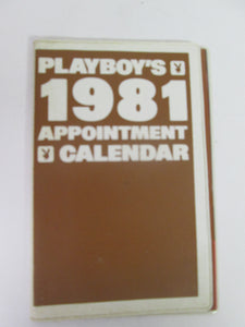 Playboy 1981 Appointment Calendar Vinyl case (must be over 18 to purchase)