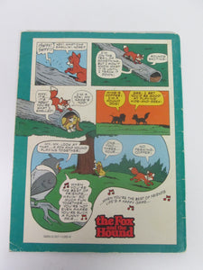 Disney's The Fox and the Hound 1981 Comic Book Format PB