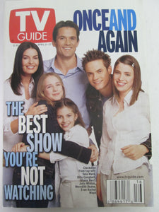 TV Guide Once And Again Cover April 21-27 2001 Evan Rachel Wood