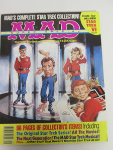 Mad Magazine Super Special September 1992 Complete Star Trek Collection
