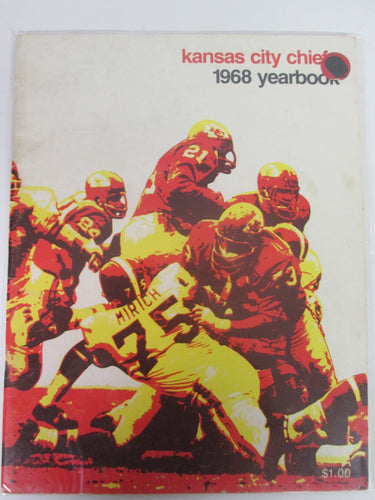 Kansas City Chiefs 1968 Yearbook