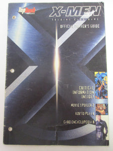 X-Men Trading Card Game Official Players Guide