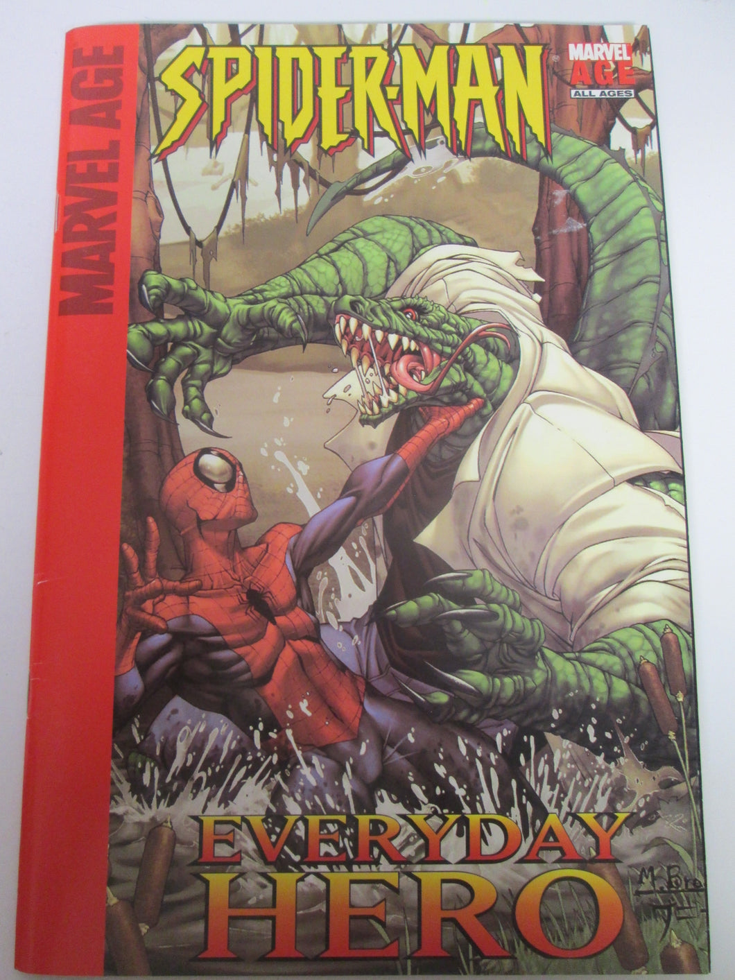 Target Marvel Age Spider-Man Everyday Hero reprints Marvel Age Spider-Man 5-8 2004