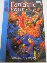 Target Fantastic Four Fantastic Firsts reprints FF 1-2 and Official Handbook of the Marvel Universe: FF 2006