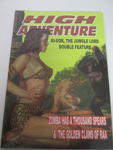High Adventure Ki-Gor, The Jungle Lord Double Feature #103 Pulp Reprint PB