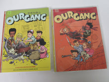 Walt Kelly's Our Gang Set collecting Comics 1942 to 1943 #1 and 1944 to 1945 #2 Reprint