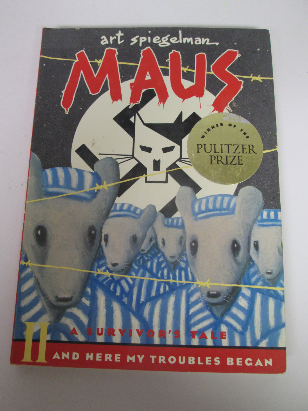 Maus II by Art Spiegman 1991 Comic Book Format PB
