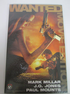 Wanted Movie Edition GN Angelina Jolie Cover by Mark Millar 2005 PB