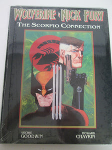 Wolverine Nick Fury The Scorpio Connection by Archie Goodwin & Howard Chaykin sealed GN HC