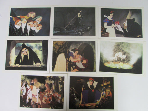 Walt Disney's Snow White Post Card Set of 8 1994