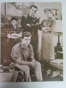 Leave It To Beaver Movie Still B&W 11x14 Family Photo