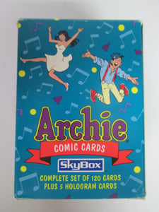 Archie 120 Comic Cards Full Set w/holograms 1993 Skybox