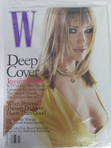 W November 2003 Magazine Sealed Jennifer Garner Cover