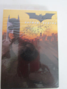 Batman Begins Playing Cards Sealed