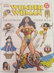 Wonder Woman The Ultimate Sticker Book More Than 60 Stickers