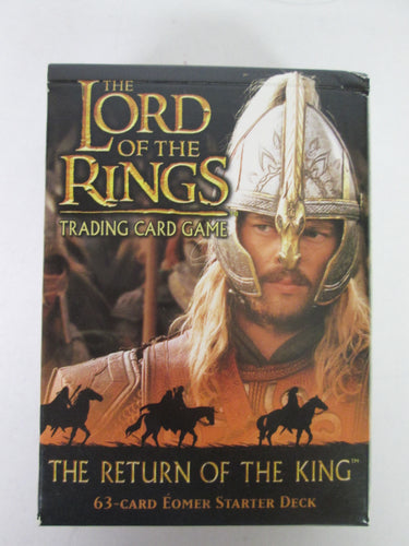 Lord of the Rings Trading Card Game Return of the King 63 Card Eomer Starter Deck 2003