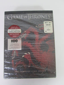 Game of Thrones Complete First Season DVD Pre-owned