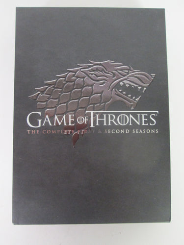 Game of Thrones Complete First & Second Season DVD Pre-Owned
