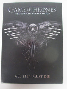 Game of Thrones Complete Fourth Season DVD Pre-Owned
