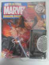 Classic Marvel Figurine Collection #17 Elektra Hand Painted Cast in Lead Magazine and Figure
