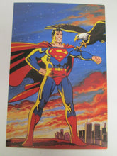 "Superman Post Card 6""x4"" 1986"