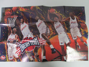 Post USA Basketball Dream Team Poster 1996