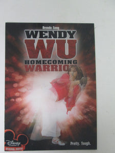 Wendy Wu Homecoming Warrior Holographic TV Ad Promo Card Disney Channel