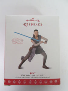 Hallmark Keepsake Star Wars The Last Jedi Rey ornament