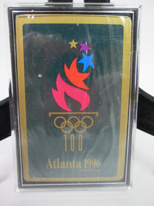 Atlanta 1996 Official Olympics Playing Cards Sealed in Case