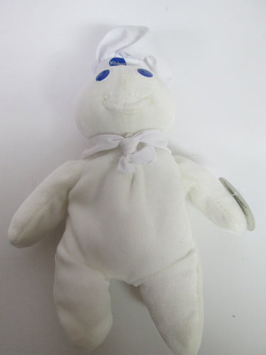 Pillsbury Doughboy stuffed 1997 with attached tag