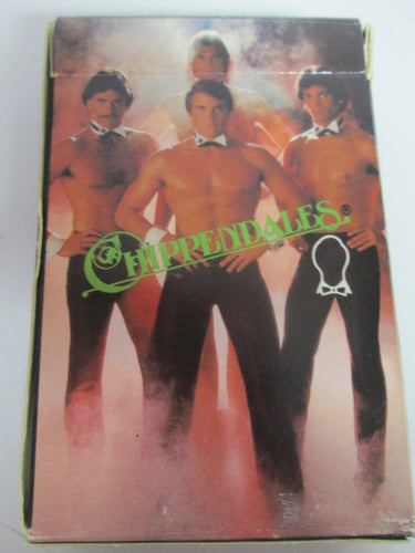 Chippendales Playing Cards 1982 Pre-owned with Free Pass