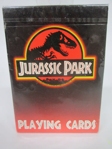 Jurassic Park Playing Cards Sealed 1993