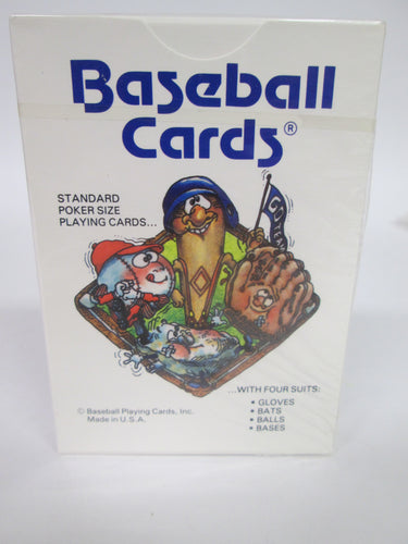 Baseball Cards Playing Cards Sealed 1989