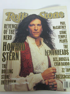 Rolling Stone Magazine February 10 1994 #675 Revenge of the Nerd Howard Stern Cover Paul McCartney