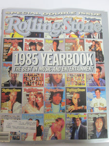 Rolling Stone Magazine December 19 1985 #463/464 1985 Yearbook Rolling Stone Issue Cover