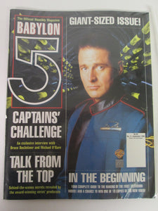 Official Babylon 5 Monthly Magazine #1-3, #1 is sealed