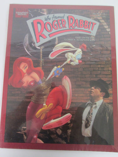 Who Framed Roger Rabbit The Official Comics Adaptation Marvel Graphic Novel PB