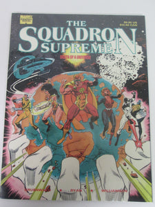 Squadron Supreme Death of a Universe Marvel Graphic Novel by Gruenwald, Ryan & Williamson PB