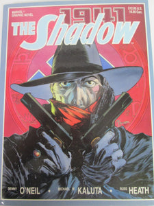 The Shadow 1941 Marvel Graphic Novel by Denny O'Neil, Kaluta & Heath 1988 HC
